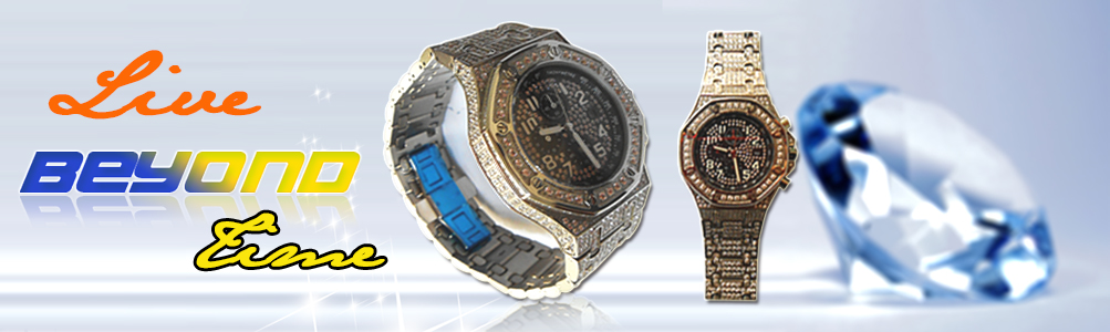 Iced Out Watch, Bling Bling watch, CZ watch, Jewelry watch, Hip Hop watch